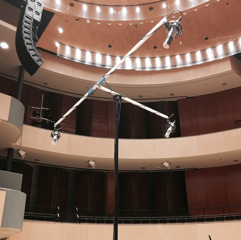 The Unknown Solider Recording at Sibelius Hall Lahti, Finland